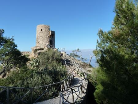 Der Aussichtspunkt Mirador Torre del Verger